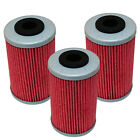 3 Pack Oil Filter KTM 525 EXC XC XC-W XC-G XC DESERT RACING 525-1st Filter 06-09