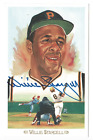 Willie Stargell signed autographed Perez Steele postcard! AMCo Authenticated!
