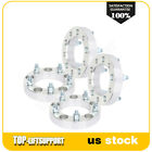 4X 125 5x55 108 mm silver wheel spacers 1 2 for Ford E 150 Dodge Ram 1500