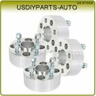 4X 2 thick wheel spacers 4x100 12x15 studs for Chevrolet Pontiac Dodge Neon