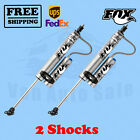 Fox Shocks Kit 2 Front for Jeep Wrangler TJ LJ 1997 2006