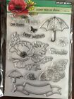 Penny Black Come Rain or Shine Clear Stamps 30 236NIPFree shipping