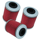 3 Pack Oil Filter FITS KTM 525 SX XC-G RACING XC DESERT RACING 2nd Filter 06-07