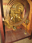 9 bell clock with keinenger movement working with triple chimes + mahogany case