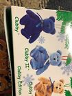 Ty Clubby I & II Blue Bears Beanie Baby SET OF 2 Rare Retired 99 Great Condition