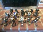 Lot of 16 Fishing Reels  Abu Garcia Shimano Bass Pro Shakespeare Quantum e
