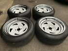 Extreme Offset Custom Wheels With New Tyres 15 8J 4x100 185 45 15 Mazda VW