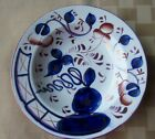 Antique Gaudy Welsh Shallow Bowl Smoking Indian or Oyster Pattern 7 3 4