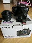 Canon 200d with 50 mm lens,camera bag and a 64GB 170MB/s SanDisk Extreme Pro SD