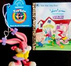 TINY TOON LOST IN FUNHOUSE Vintage Mini Little Little Golden Book RARE ED