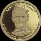 2010 S Abraham Lincoln Presidential Dollar Gem Deep Cameo PROOF US Mint Coin