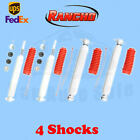 Rancho RS5000X FrontRear 25 Lift Shocks for Jeep Wrangler TJ 2WD 97 06 Kit 4