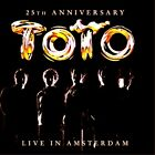 TOTO - LIVE IN AMSTERDAM - CD+DVD 25TH ANNIVERSARY   ***EXCELLENT CONDITION****