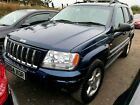 2004 JEEP GRAND CHEROKEE 47 V8 OVERLAND LPG GAS SUNROOF 1 2LEATHER ALLOYS