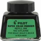 Pilot Super Color Permanent Marker Refill Ink Xylene Free 1 Ounce Bottle with