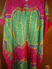 Vintage Winlar Caftan Mumu Lounge House Dress Kimono Kaftan Duster Plus One Size