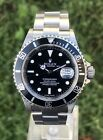 Rolex Submariner Date 16610 Stahl 40mm Rehaut LC100 Unpoliert Full Set