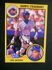 Darryl Strawberry - 1991 Starting Lineup Autographed Baseball card # 18 - Mets