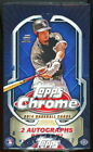 2014 TOPPS CHROME BASEBALL SEALED HOBBY BOX auto rc sp connections die-cut 1989