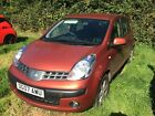 LARGER PHOTOS: Nissan Note 1.4 5 Door SE - Spares or Repair - NO RESERVE
