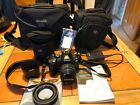 Olympus E520 Digital Camera, 2 Lenses, Charger, Instructions And Cases