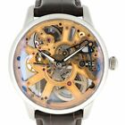 Maurice Lacroix Masterpiece MP7228-SS001-001 Skeleton Men's Watch Hand Roll Used