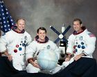 8x10 NASA Photo Prime crew for the Skylab 4 mission e73