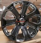 22 GMC Yukon Denali Style Wheels Gray Rims Fit 6lug Sierra Chevy Tahoe LTZ