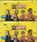 2016 WWE Topps Heritage Factory Sealed Hobby Box Lot (2) HOT