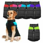 Small Large Pet Vest Jacket Warm Waterproof Dog Clothes Winter Padded Coat USA