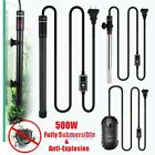 500W LED Digital Submersible Fish Tank Aquarium Heater Adjustable Thermostat USA
