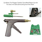Vehicle Car Motorcycle Tire Plugger Tubeless Tyre Wheel Repair Gun w/Rubber Plug