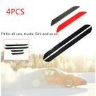 4x Car Carbon Fiber Front  Rear Door Sill Pedal Cover Panel Protector Strip Kit