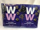 4 PACK WEIGHT WATCHERS CHOCOLATE MARSHMALLOW PUFFS NEW WW 20 POUCHES BB 10 2019