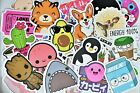50 Cute Teen Girl Vinyl Stickers Pack for Hydro Flask Laptop Suitcase Journal