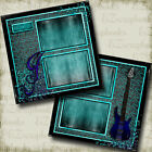 Rock Star 2 Premade Scrapbook Pages EZ Layout 4346