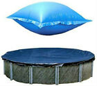 24 Ft Round Above Ground Winter Pool Cover w 4x8 Closing Air Pillow