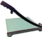 Guillotine Paper Cutter Premier Trimmer 16 Materials Co Heavy Duty Wood Base