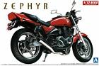 Aoshima Bunka Kyozai 1/12 Bike Series No.10 Kawasaki Zephyr 4-in... JAPAN Import