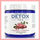 Pure Health DETOX AND CLEANSE TEA Rosehip + Hibiscus Detox Blend My Diet Chef