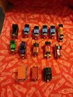 Thomas & Friends Train Lot of 14 Die Cast Engines and Cars Take N Play