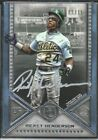 2019 Topps Museum Rickey Henderson Silver Plate Auto 15