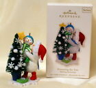 "2008 Hallmark"" Trimming the tree"" ornament, ""Making  Memories"" series"
