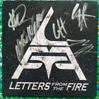 SIGNED!  Letters From The Fire - Self-Titled CD USA 2014 - ULTRA RARE AUTOGRAPH!