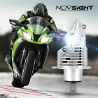 Motorcycle H4 LED Bulb 30W Hi/Low Beam Headlight 6500K White For Honda Harley US