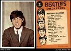 1964 Topps Beatles Black and White 2nd Series Trading Cards 2