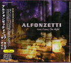 ALFONZETTI Here Comes The Night + 1 JAPAN CD Jagged Edge Skintrade Impera AOR/HR