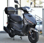 99 Assembled 2020 49cc Gas Scooter Moped LED Light KANDA Tires Remote Alarm USB