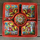 Talavera Mexican Pottery Serving Dish or Platter Approx 105 6 pieces