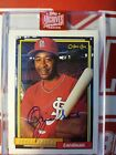 2019 Topps Archives Signature Retired Ozzie Smith On Card Auto #1 1 Cardinals
